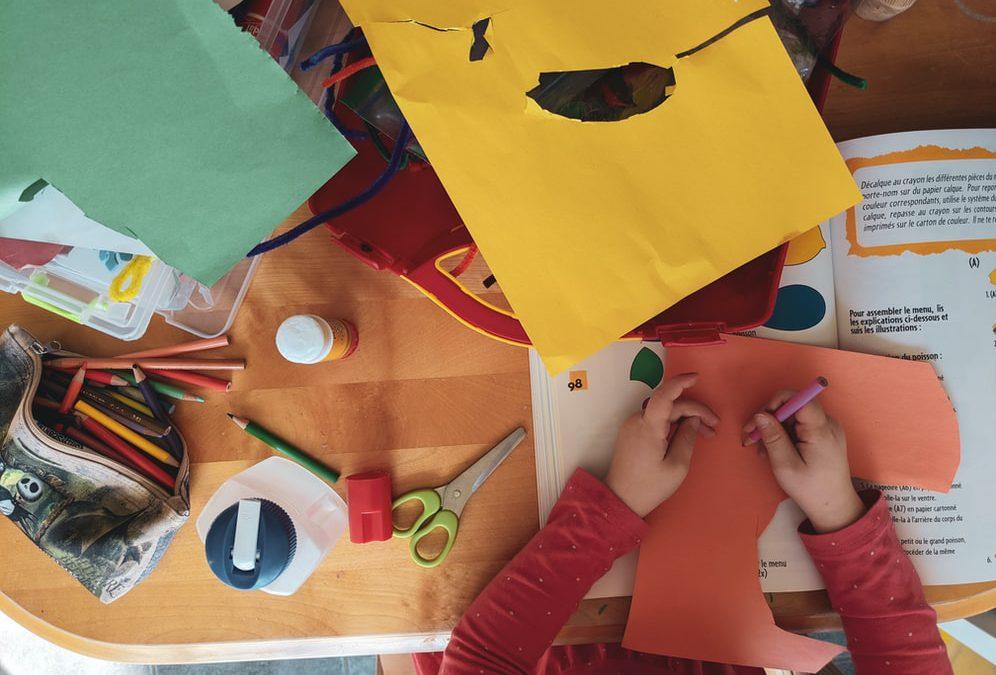 Creatieve activiteiten voor een peuter